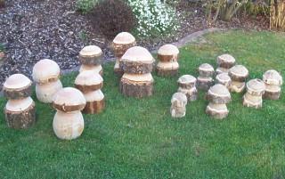 Rustikale Gartenmbel - Vieles aus Holz - Holzgebrauchsgegenstnde